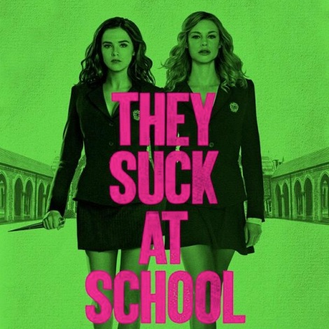 'They Suck At School' Poster copy 2