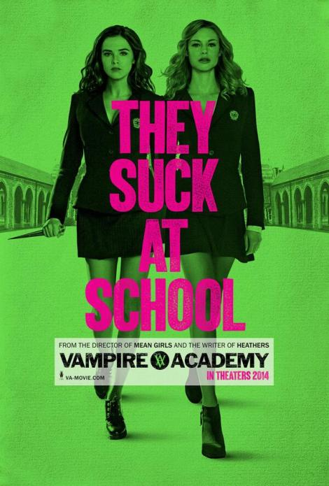'They Suck At School' Poster