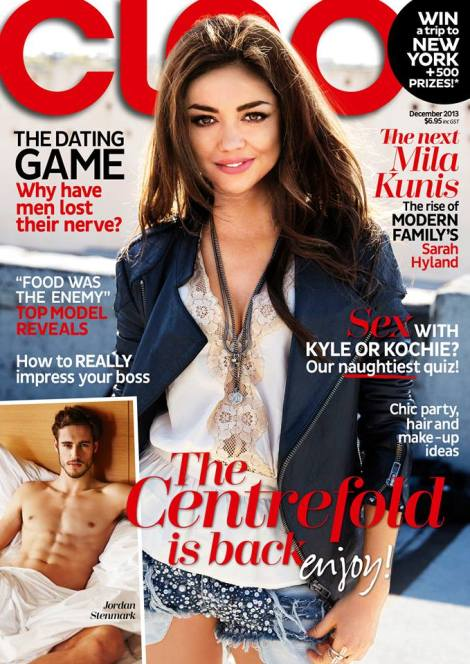 Sarah_CleoMag_Dec2013_Cover